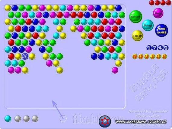 Screenshot z online hry.